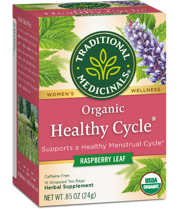 Organic Healthy Cycle® Tea Package